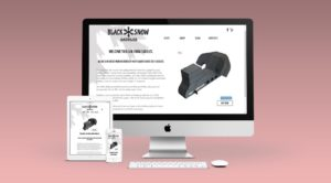 Black Snow Saddles responsive website by Bomb Blast Media