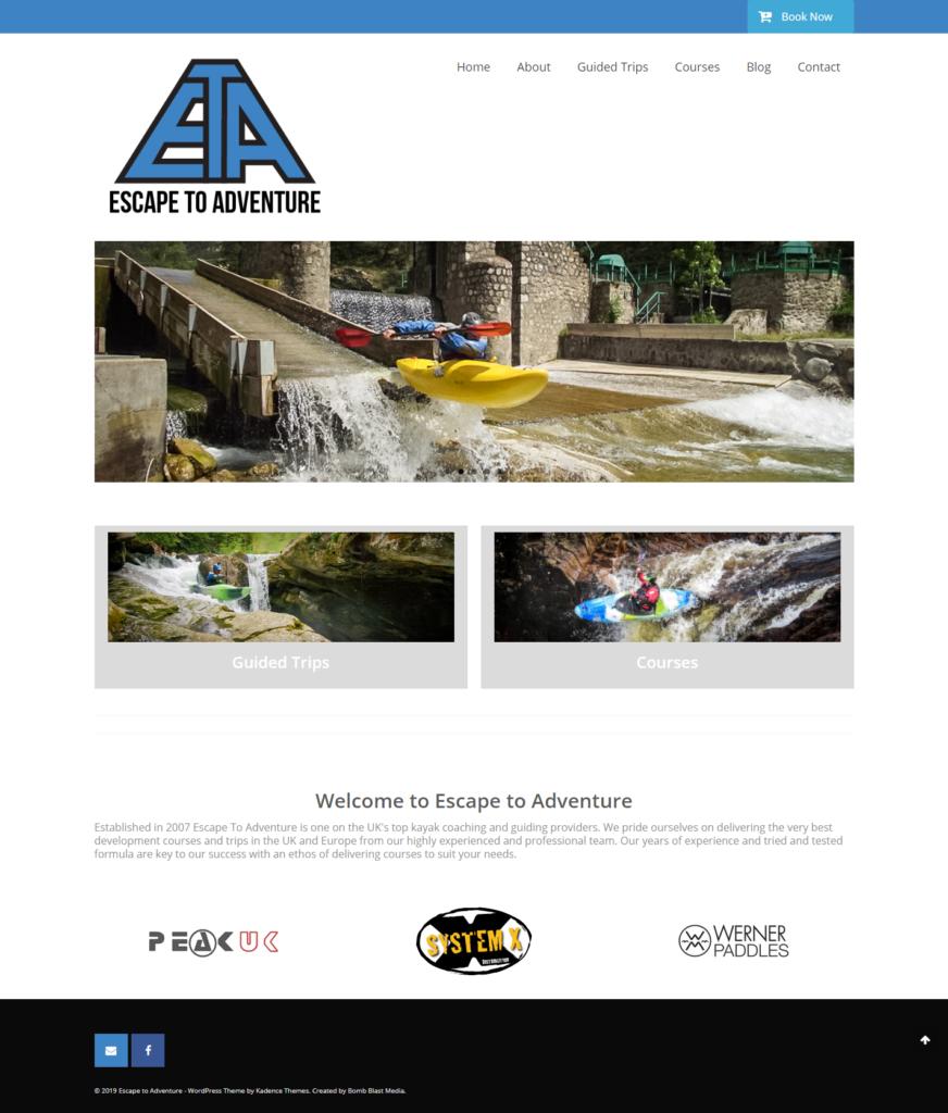 escape to adventure site