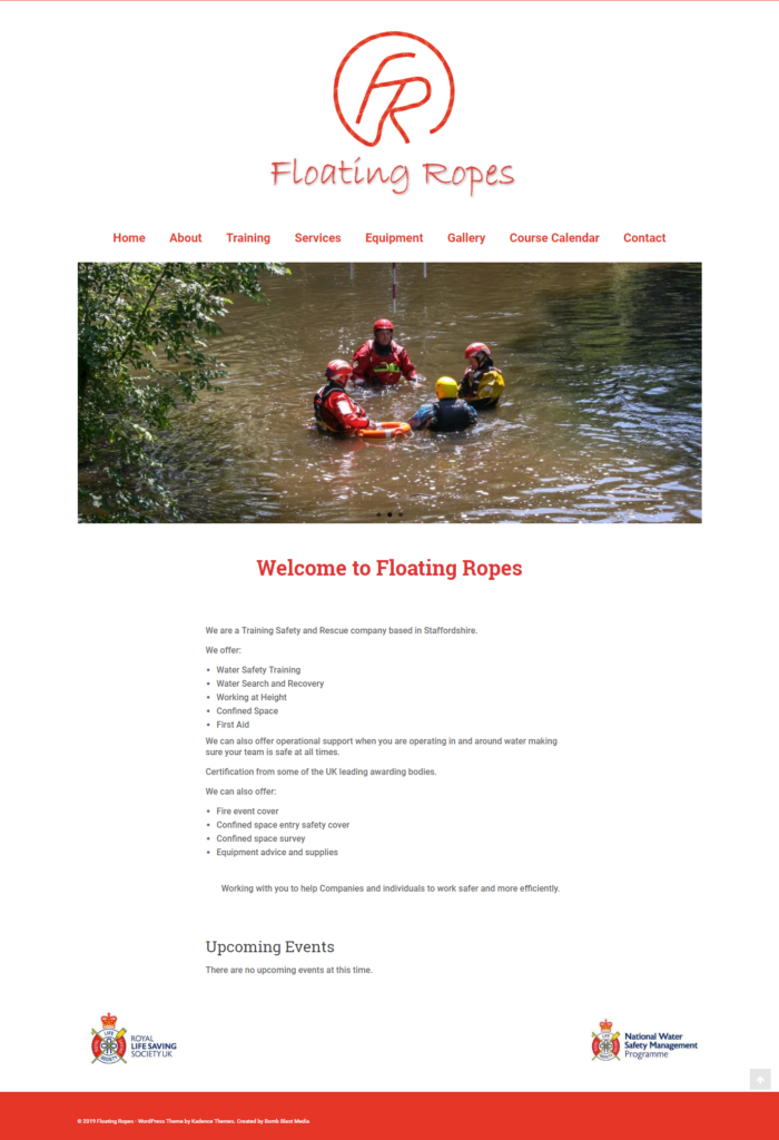 floating ropes site