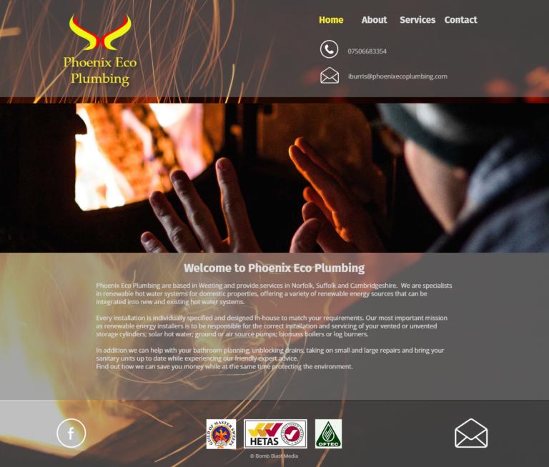 Pheonix Eco Plumbing Web site